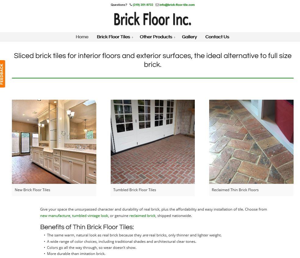 Brick floor tile inc ratherthanrunning brick floor tile inc dailygadgetfo Images