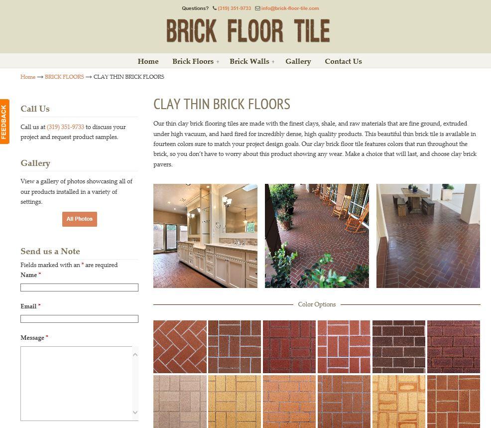 Brick floor tile inc ratherthanrunning dailygadgetfo Images
